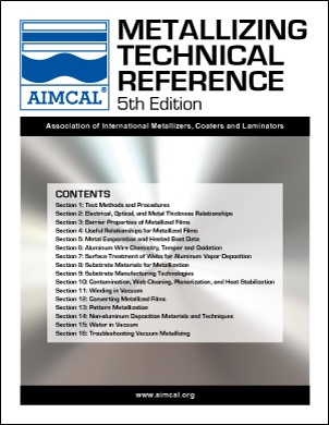 AIMCAL Metallizing Technical Reference 5th Edition